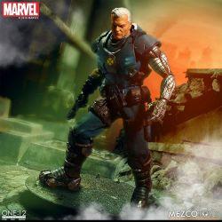 Cable Mezco One:12 figurine 1/12 (Marvel Comics)
