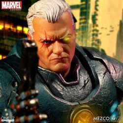 Cable Mezco One:12 1/12 action figure (Marvel Comics)