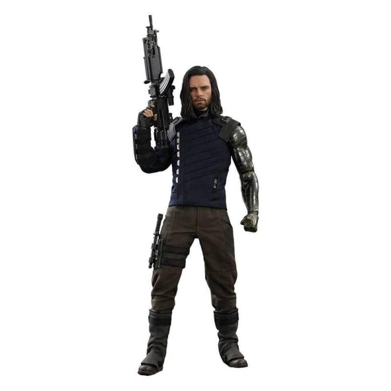 Bucky Barnes Hot Toys MMS509 1/6 action figure (Avengers Infinity War- Part 1)