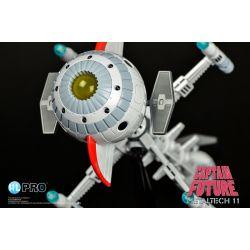 Cyberlab de Capitaine Flam Metaltech 11 HL Pro réplique vaisseau Future Comet 24 cm (Capitaine Flam)
