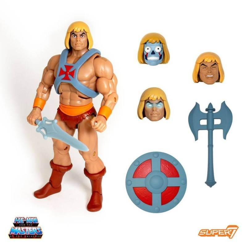 Musclor (He-Man) MOTU Classics Club Grayskull Ultimates Super7 (Les Maîtres de l'Univers)