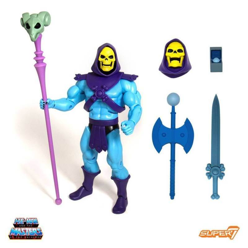 Skeletor MOTU Classics Club Grayskull Ultimates Super7 (Les Maîtres de l'Univers)