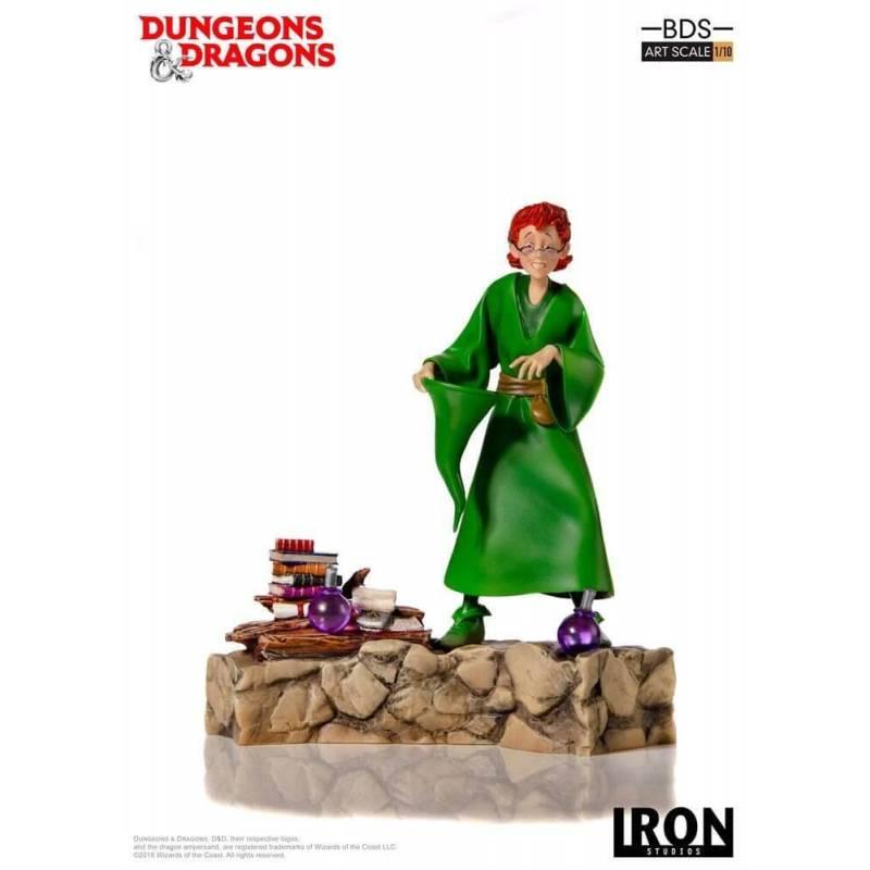 Presto Le Magicien BDS Art Scale Iron Studios Statue 1/10 (Donjons et Dragons)