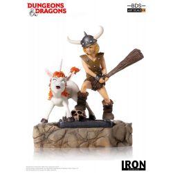 Boddy le Barbare et Uni BDS Art Scale Iron Studios Statue 1/10 (Donjons et Dragons)