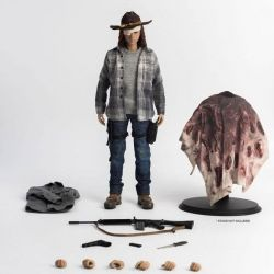 Carl Grimes Deluxe Version ThreeZero figurine articulée 1/6 (The Walking Dead)
