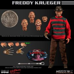 Freddy Krueger Mezco One:12 1/12 action figure (A Nightmare on Elm Street)