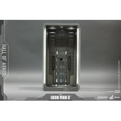 Hall of Armor Hot Toys DS001A diorama 1/6 figure accessory (Iron Man 3)