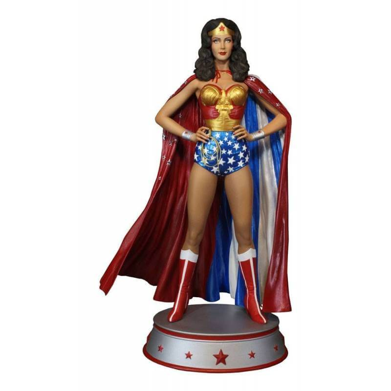 Wonder Woman Cape Variant Maquette Tweeterhead Sideshow Collectibles figurine 33 cm (DC Comics)