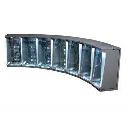 Hall of Armor Hot Toys DS001C diorama set de 7 vitrines éclairées 1/6 (Iron Man 3)