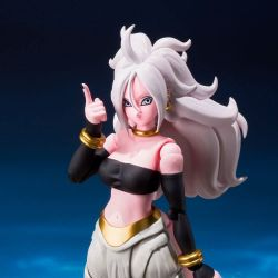 Android 21 C-21 S.H.Figuarts figurine articulée (Dragon Ball Fighterz)