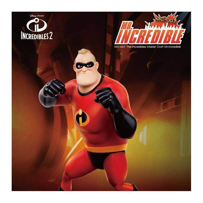 Mr. Incredible Disney Master Craft Beast Kingdom (The Incredibles 2)