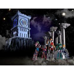 Horloge Sanctuaire diorama Myth Cloth (Saint Seiya)