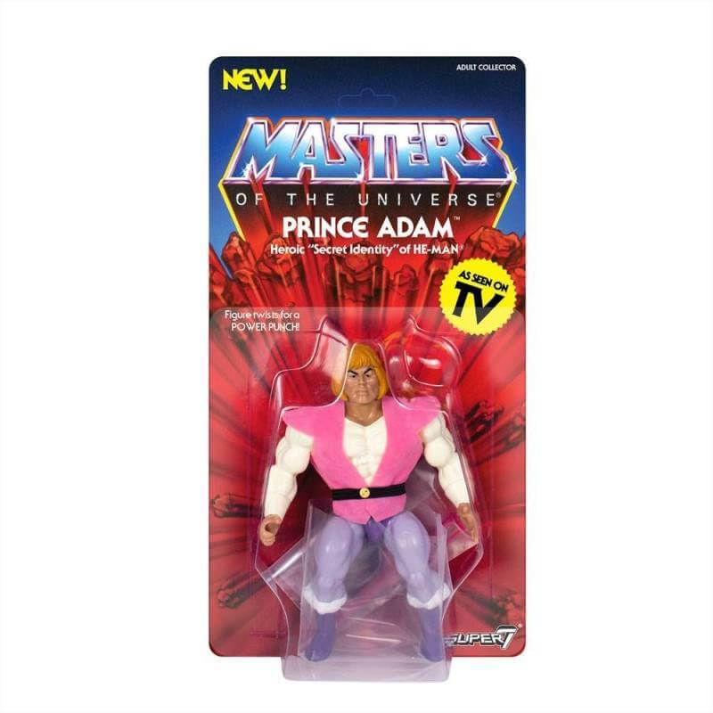 Prince Adam MOTU Vintage Collection Wave 3 Super7 (Masters of the Universe)
