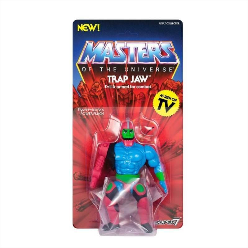 Trap Jaw MOTU Vintage Collection Wave 3 Super7 figurine 14 cm (Les Maîtres de l'Univers)