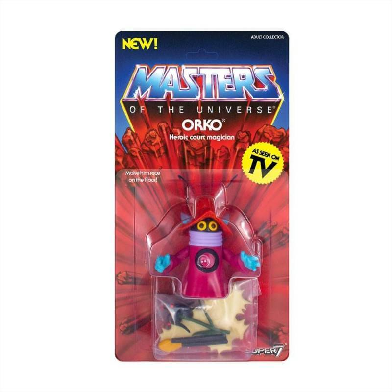 Orko MOTU Vintage Collection Wave 3 Super7 action figure (Master of the Universe)