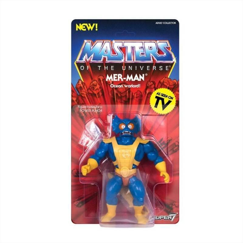 Mer-Man MOTU Vintage Collection Wave 3 Super7 (Les Maîtres de l'Univers)
