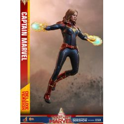 Captain Marvel Deluxe Version Hot Toys MMS522 figurine articulée 1/6 (Captain Marvel)
