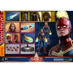 Captain Marvel Deluxe Ver. Hot Toys MMS522 1/6 action figure (Captain Marvel)