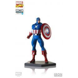 Captain America Classic Art Scale Iron Studios 1/10 figure (Marvel Comics)