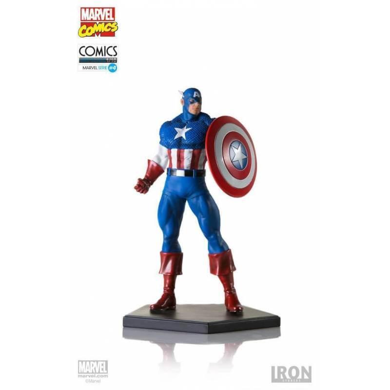 Captain America Classic Art Scale Iron Studios Statuette 1/10 (Marvel Comics)