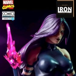 Psylocke Art Scale Iron Studios Concept Store Exclusive 1/10 collectible figure (Marvel Comics) - slightly damaged box