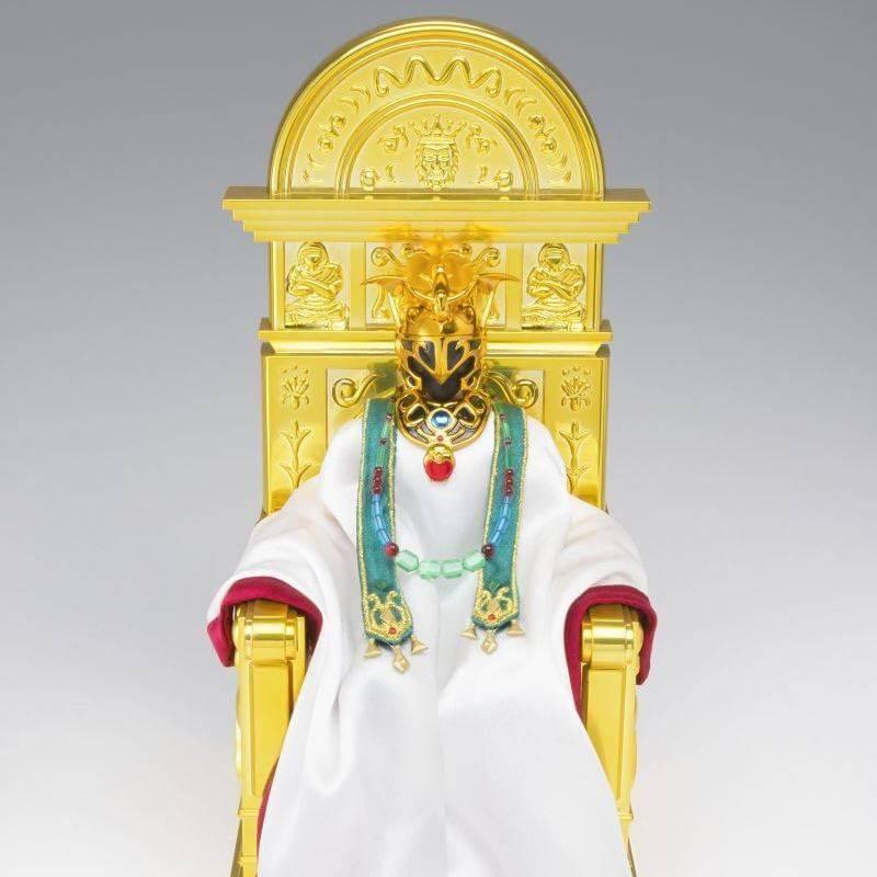 Myth Cloth EX Shion Bélier Surplis et accessoires de Pope (Saint Seiya)