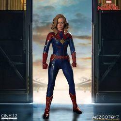 Captain Marvel Mezco One:12 1/12 action figure (Captain Marvel)