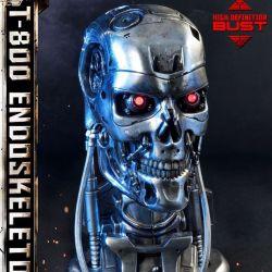 T-800 Endoskeleton Head Prime 1 Studio 1/2 bust (Terminator)