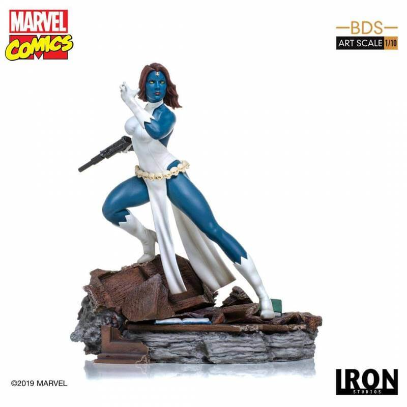 Mystique BDS Art Scale Iron Studios Statuette 1/10 (Marvel Comics)