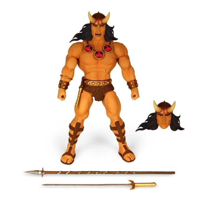 Conan le Barbare Deluxe Super7 figurine articulée 18 cm (Conan)