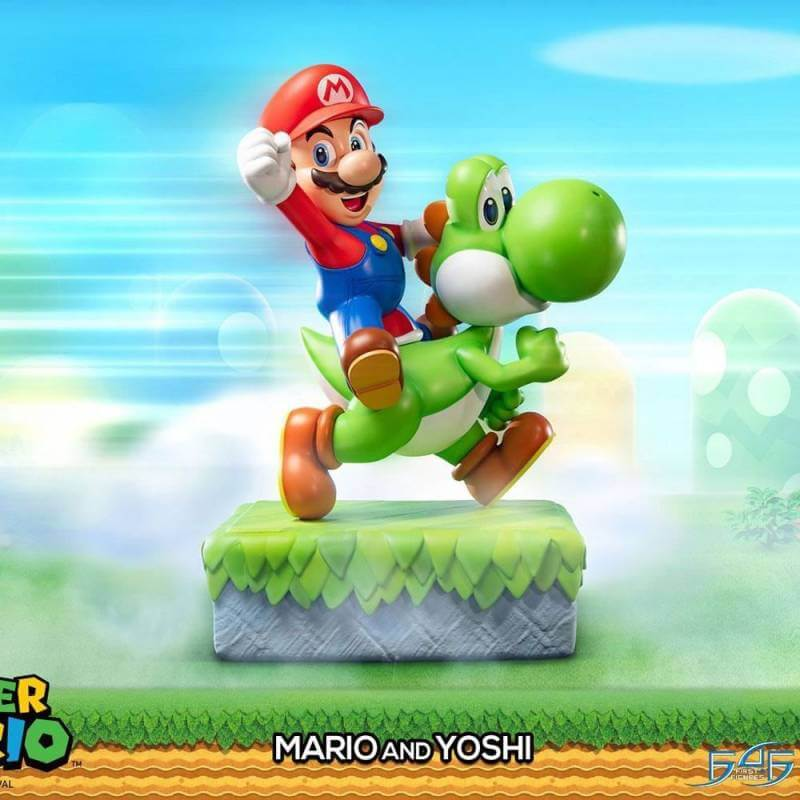 Mario and Yoshi First 4 Figures F4F 48 cm statue (Super Mario)