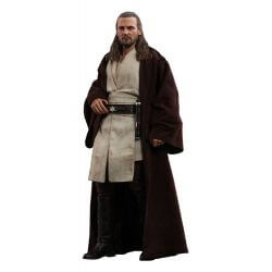 Qui-Gon Jinn Hot Toys MMS525 1/6 Action Figure (Star Wars I : The Phantom Menace)