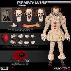 Pennywise Mezco One:12 1/12 figurine (« Il » est revenu)