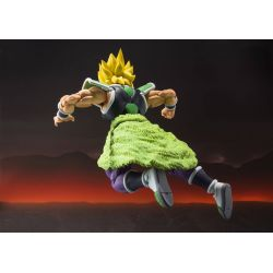 Broly SH Figuarts black and yellow hair Bandai action figure (Dragon Ball Super : Broly)