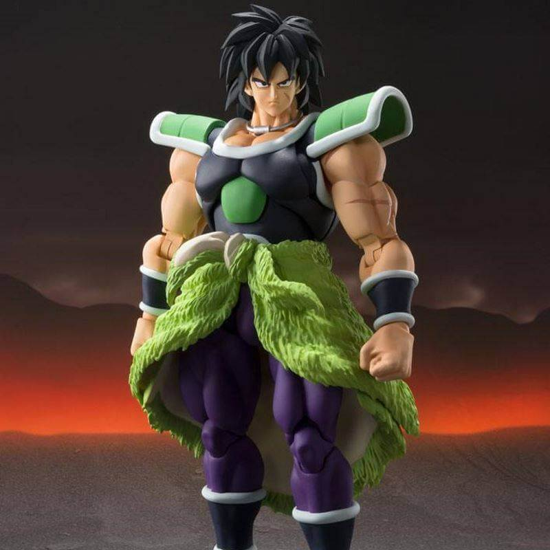 Broly SH Figuarts black and yellow hair (Dragon Ball Super Broly)