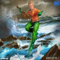 Aquaman Mezco One:12 figurine 1/12 (DC Comics)