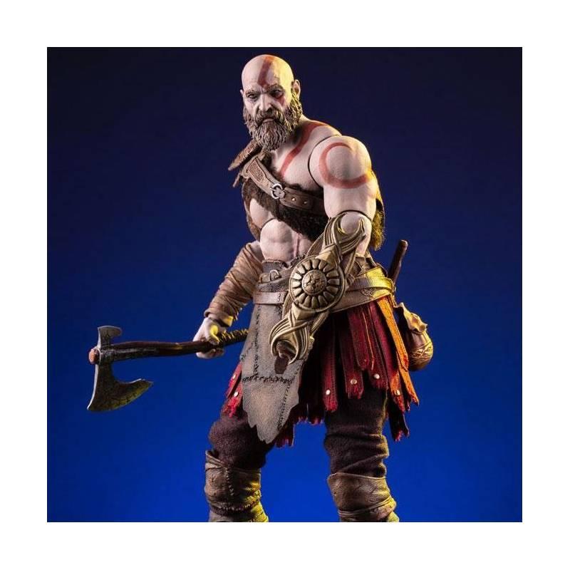 Kratos Mondo 1 6 Action Figure God Of War 2018 Buy Online