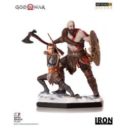 Kratos et Atreus Deluxe Art Scale Iron Studios Statue 1/10 (God of War)