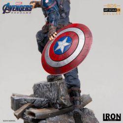 Captain America Deluxe BDS Art Scale Iron Studios Statue 1/10 (Avengers : Endgame)