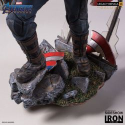 Captain America Deluxe Version Legacy Replica Iron Studios 1/4 figure (Avengers : Endgame)