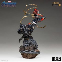 Iron Spider vs Outrider BDS Art Scale Iron Studios Statue 1/10 (Avengers : Endgame)