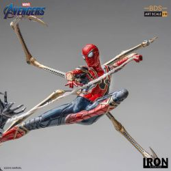 Iron Spider vs Outrider BDS Art Scale Iron Studios 1/10 figure (Avengers : Endgame)