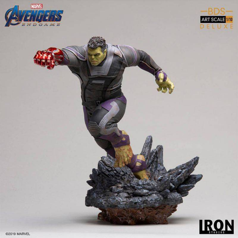Hulk Deluxe Version BDS Art Scale Iron Studios Statue 1/10 (Avengers : Endgame)