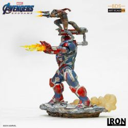 Iron Patriot and Rocket BDS Art Scale Iron Studios 1/10 (Avengers : Endgame)