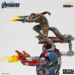 Iron Patriot et Rocket BDS Art Scale Iron Studios 1/10 (Avengers : Endgame)