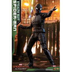 Spider-Man (Stealth Suit) Hot Toys MMS540 1/6 (Far From Home)