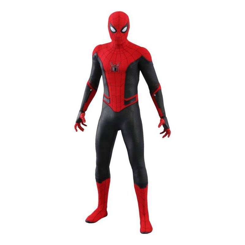 Spider Man Upgraded Suit Hot Toys Mms542 1 6 Far From Home