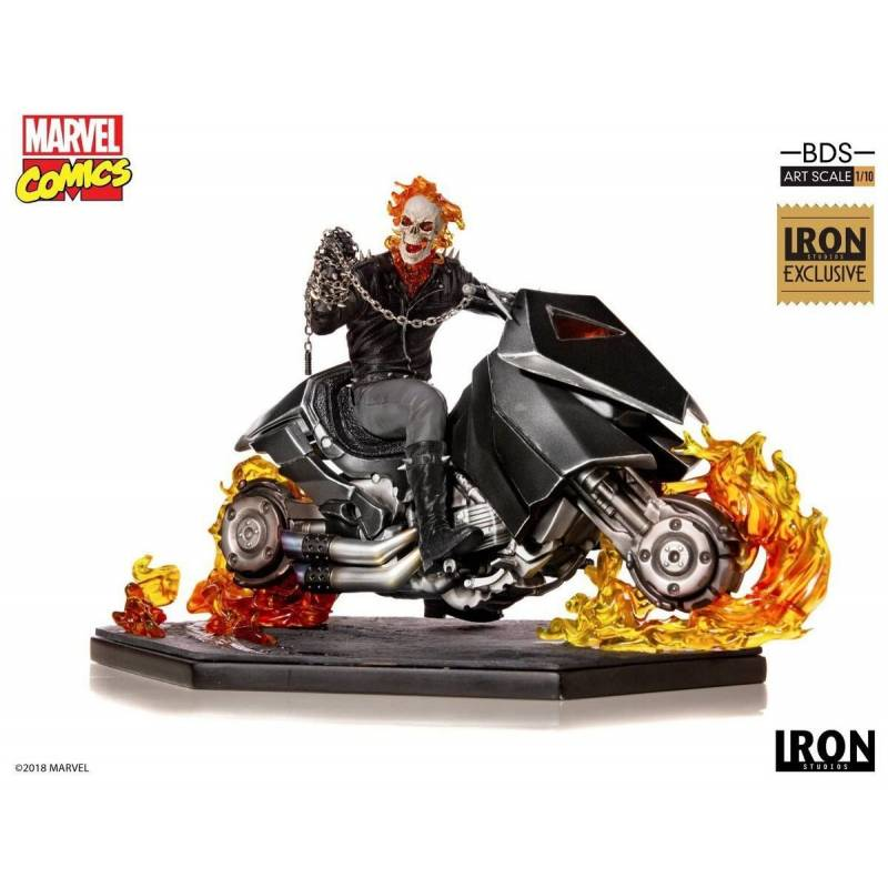 Ghost Rider Iron Studios 1/10 Comic Con 2019 Exclusive