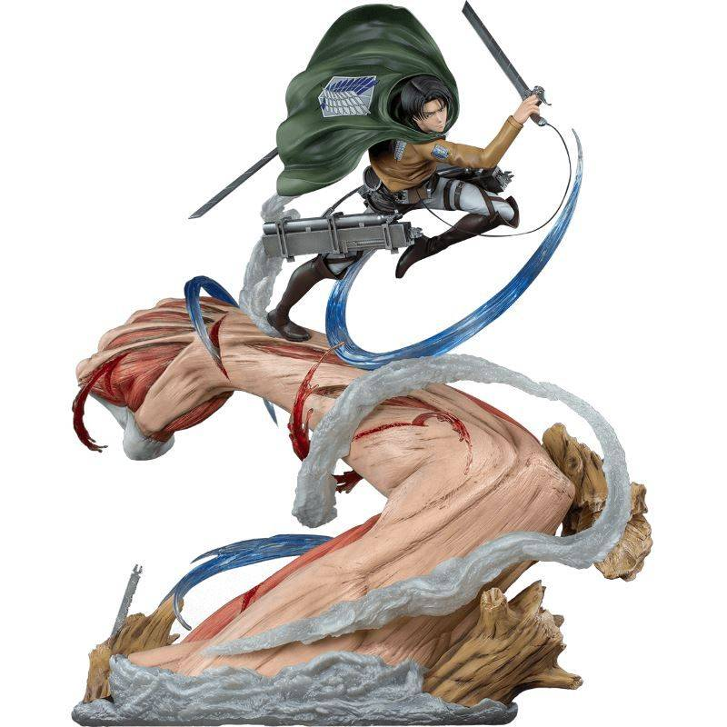 Levi vs Female Titan Oniri Creations (L'Attaque des Titans)
