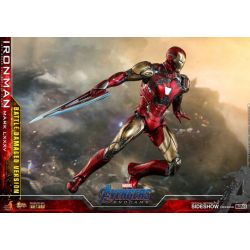Iron Man Mark LXXXV Battle Damaged Hot Toys MMS543D33 (Avengers Endgame)